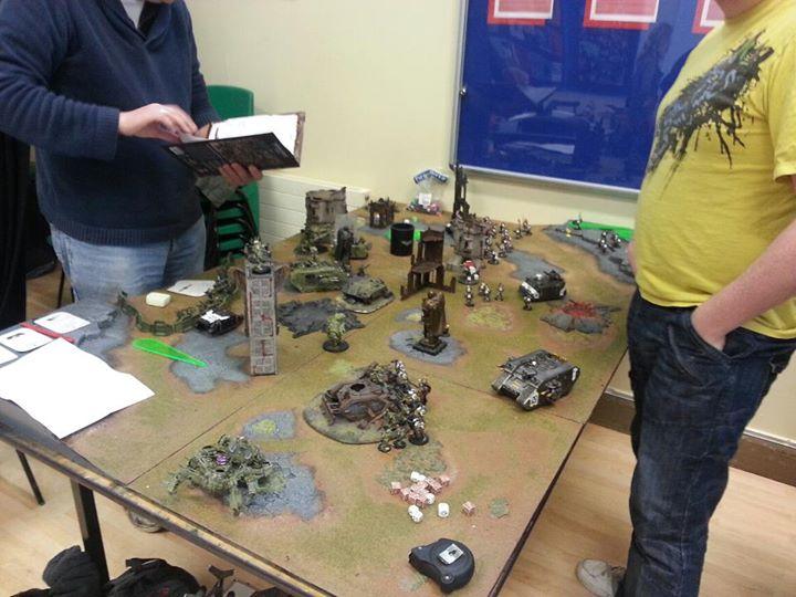 A Warhammer 40,000 Game