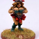 Blood Bowl Lady Linedwarf