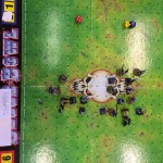 A game of Bloodbowl
