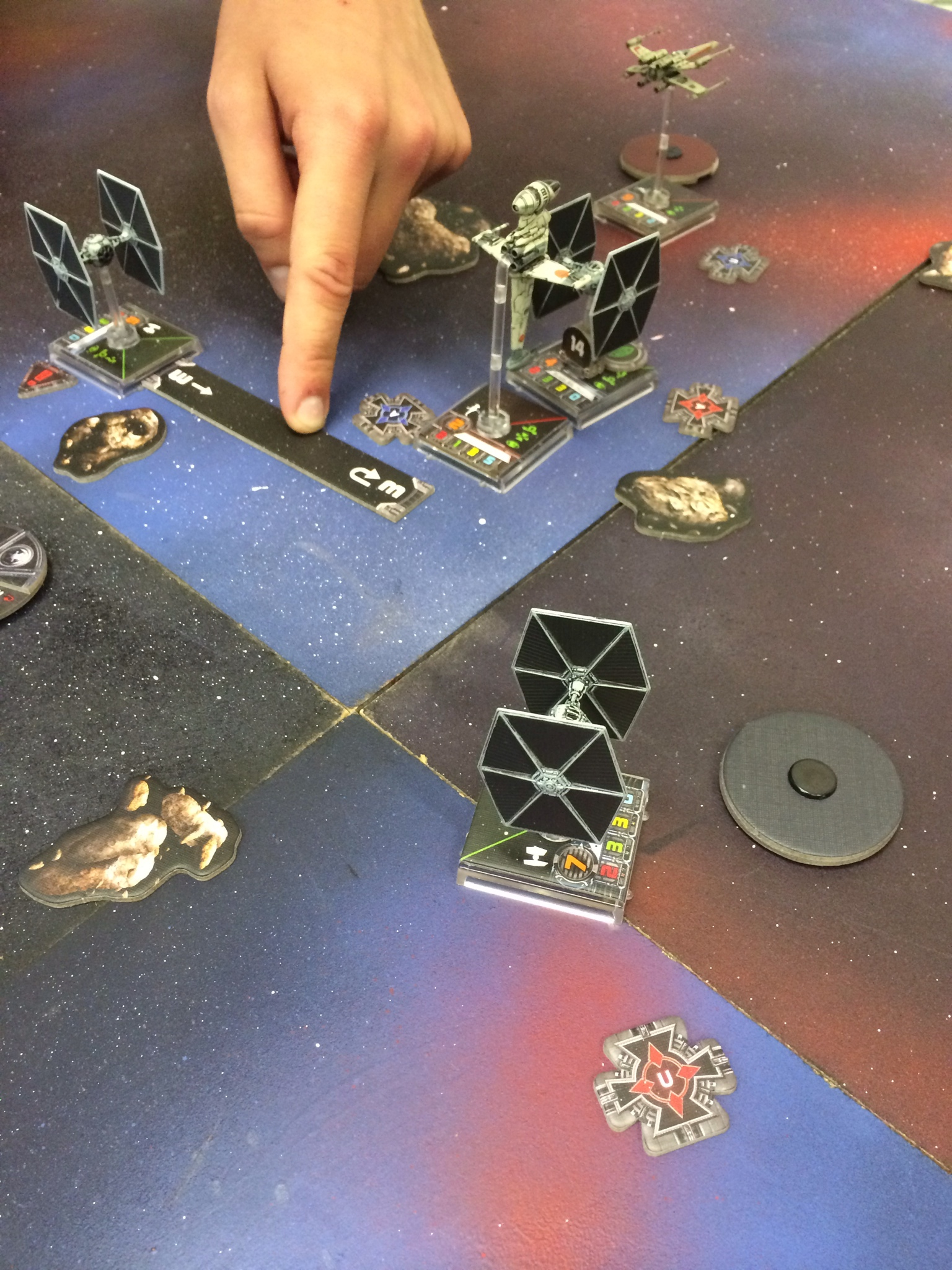 A game of Star Wars from FFG