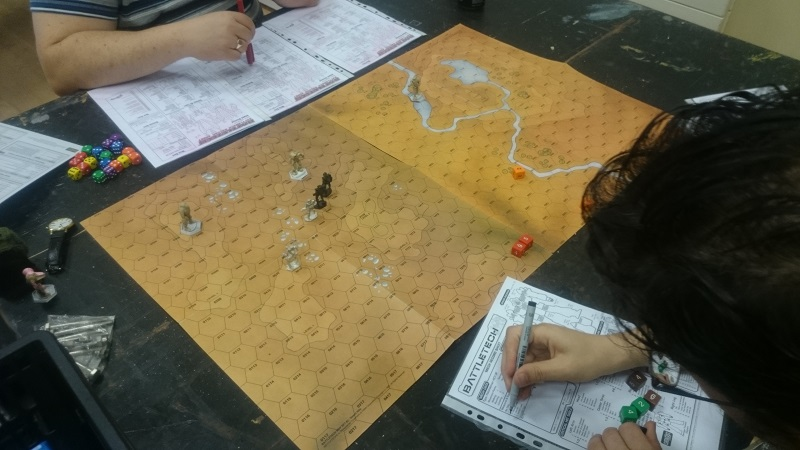 A Succession Wars Era game of BattleTech.